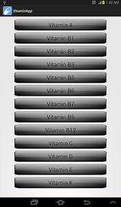 Vitamin App For Free screenshot 1