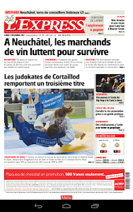 L'Express journal screenshot 9