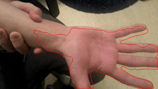 HandSkinTracking screenshot 5