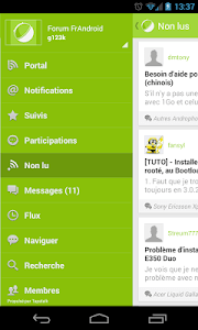Forum FrAndroid (beta) screenshot 1