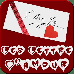 les lettres d'amour romantique