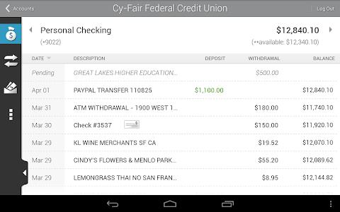 Cy-Fair FCU Mobile Banking screenshot 6