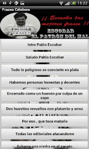Frases Pablo Escobar screenshot 1