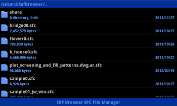 SXF Browser for Android - screenshot thumbnail 04