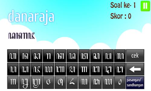 Akswa - Belajar Aksara Jawa screenshot 4