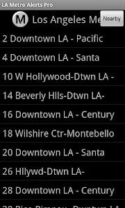 LA Metro Alerts Pro screenshot 1