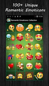 Romantic Emoticons Collection screenshot 0