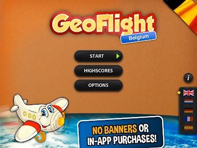 GeoFlight Belgium: Geography screenshot 4