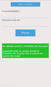 OnMyWay screenshot 1