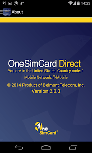 OneSimCard Direct screenshot 3