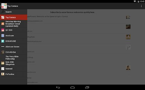 My WebComic Reader screenshot 8