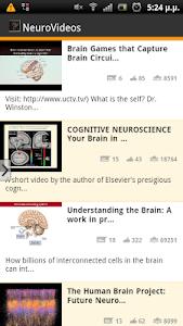 NeuroVideos screenshot 0