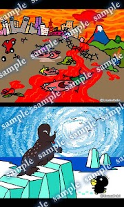 Daily Cartoon003 LWP & Clock screenshot 2