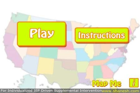 Map Me - Autism Series screenshot 1