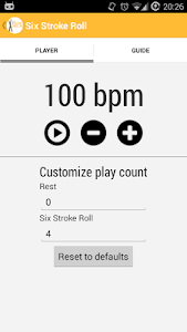 RowDrum - Drum Rudiments screenshot 0