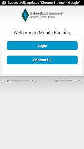 IBMSECU Mobile Banking screenshot 2