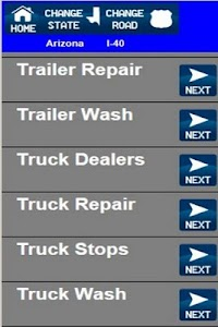 Truck Stops And Services screenshot 4