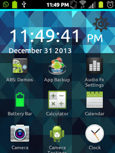 Launcher screenshot 2