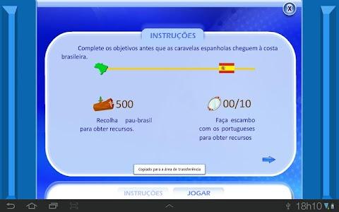 Colonização Portuguesa screenshot 1