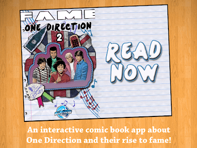 Fame: One Direction Comic Book screenshot 0