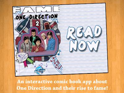 Fame: One Direction Comic Book screenshot 0