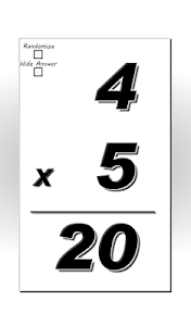 Multiplication Flash Cards screenshot 6