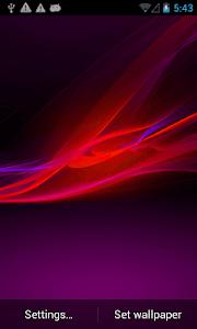 Xperia Z Smart LWP screenshot 4