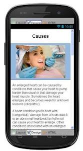 Enlarged Heart Information screenshot 3