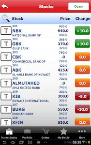 Gulf Bank Mobile Trader screenshot 10