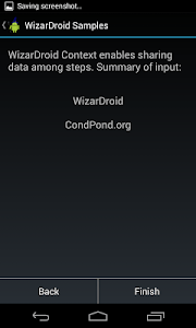 WizarDroid Sample screenshot 2