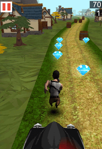 Village Freak Run 3D screenshot 2