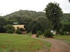 Le Auroville Resort enterance