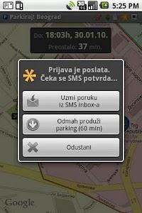 Parkiraj Beograd screenshot 1