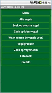 Vogels in Nederland screenshot 2