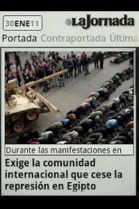 La Jornada mini screenshot 1