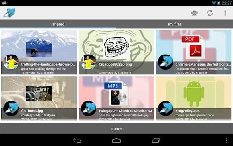 Fileboost screenshot 3