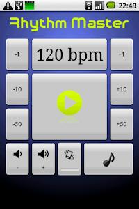 Rhythm Master Metronome screenshot 0