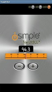 TranzIt BLU iSimple App screenshot 1