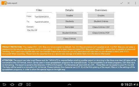 TAPUCATE - Teacher App screenshot 7