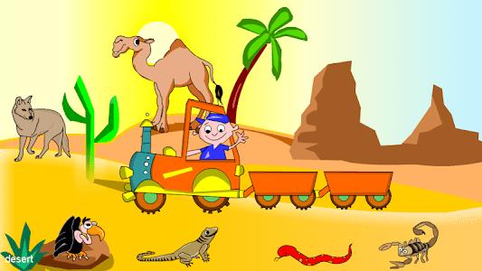 Kids Animal Game-Zoo TrainFULL screenshot 1