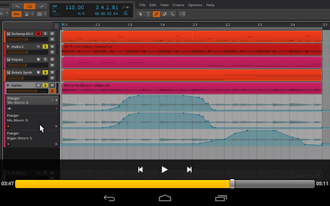 Course For Bitwig Interments screenshot 5