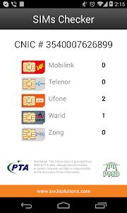 SIMs Checker screenshot 2