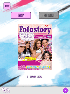 Violetta - Fotostory screenshot 7