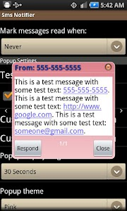 Sms Notifier screenshot 4