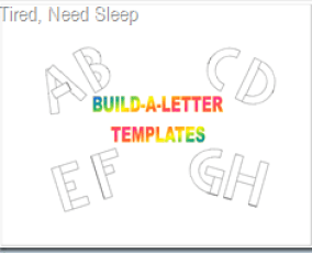 Build-a-letter Templates