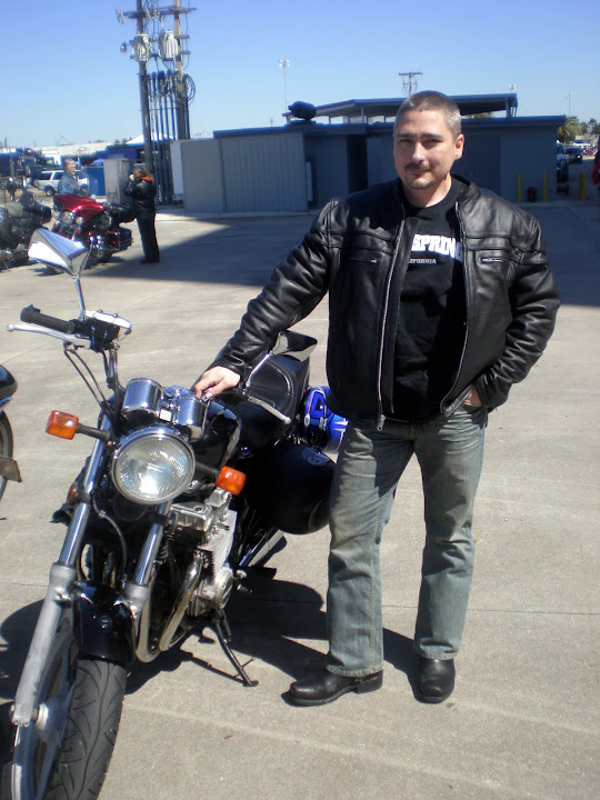 The Binary Biker at Daytona Bike Week 2010