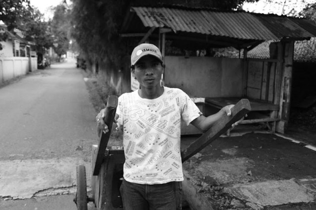 In the back streets of Kemang