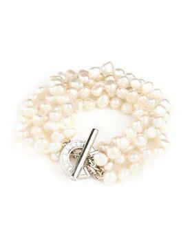 Multistrand pearl bracelet by Ted Baker