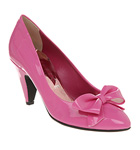 Pink Vintage Style Bow Shoes by Office