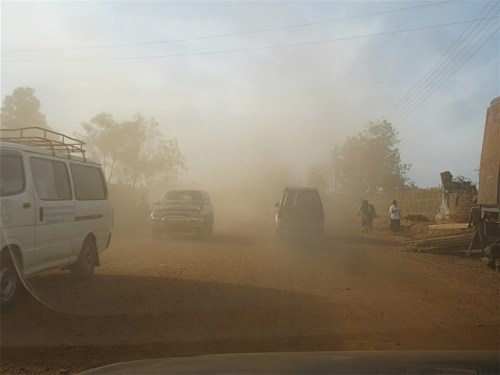 Dust in Juba
